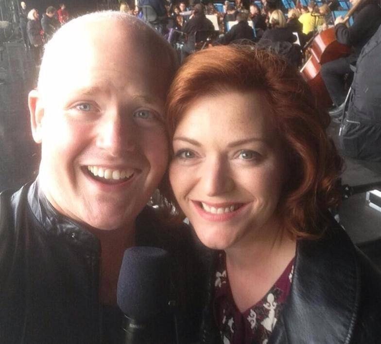 Nicky Spence and Kate Valentine, Proms in the Park Glasgow 2013