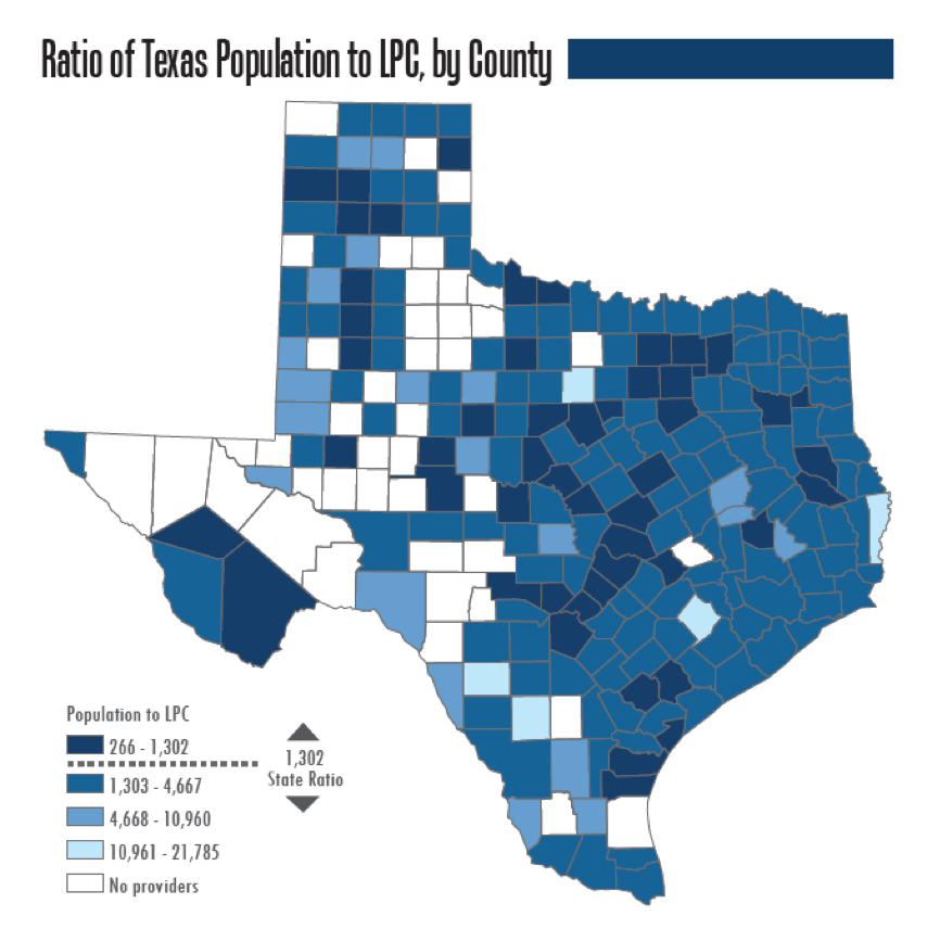 Texas Underserved Areas