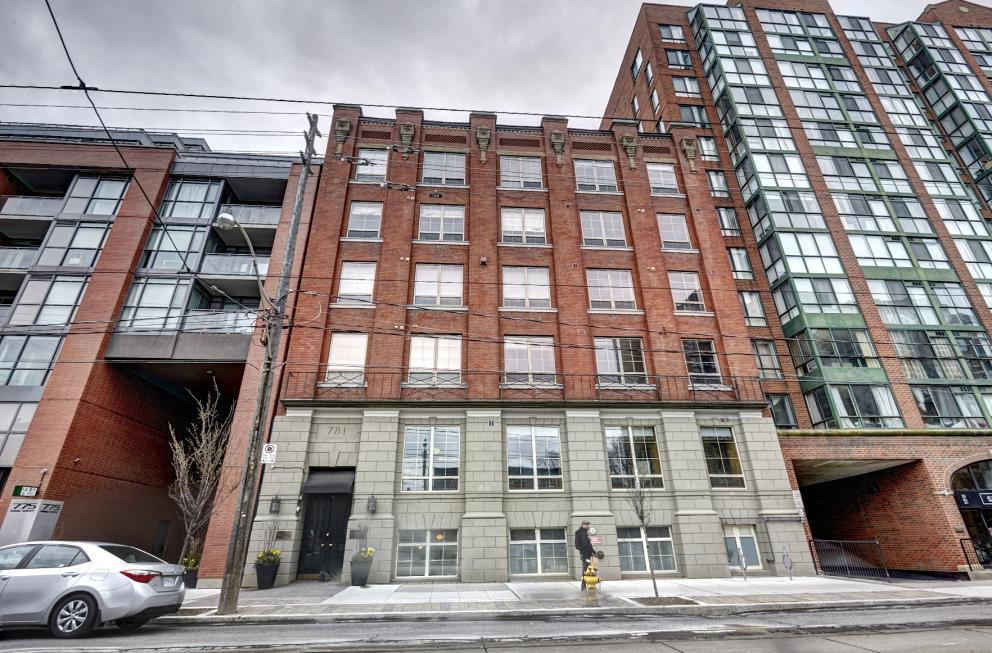 #505 Gotham Lofts - 781 King Street West | Kate Watson