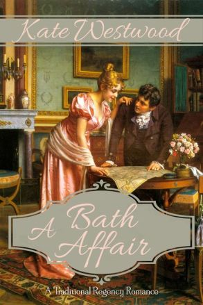 A Bath Affair by Kate Westwood Book Cover Image