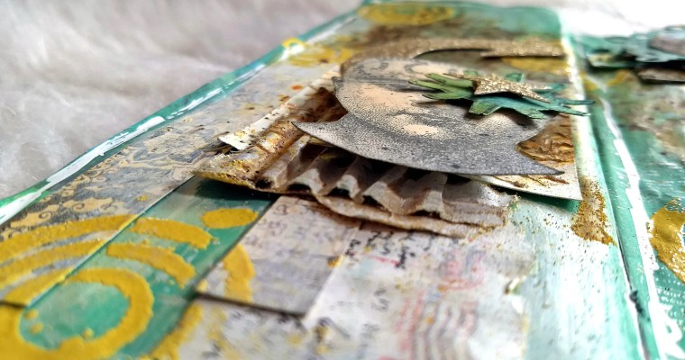 Stars In My Eye: Mixed Media Junk Journal