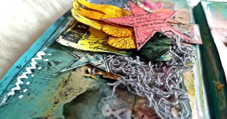 Through The Yellow Spectacles: Mixed Media Junk Journal