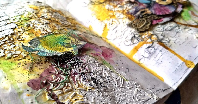 Always Be A Mermaid: Mixed Media Art Journal