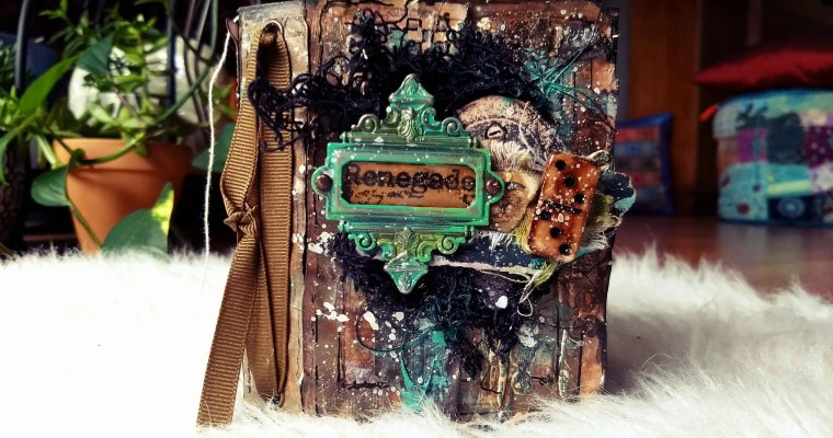 Renegade: Seth Apter Inspired Mini Art Journal