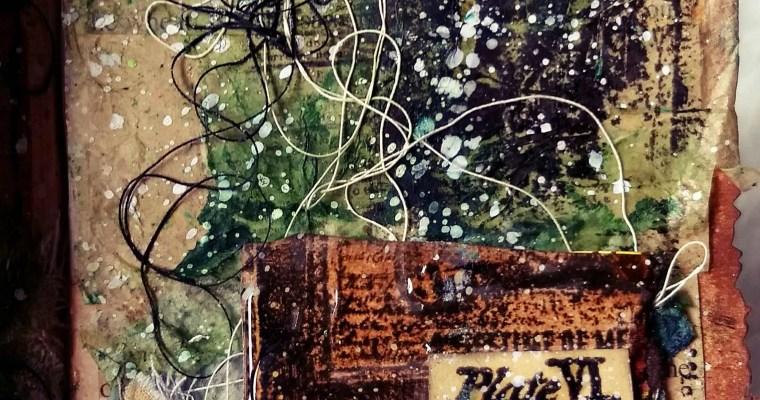 Keys Are Forever Getting Lost: Seth Apter Inspired Mini Album