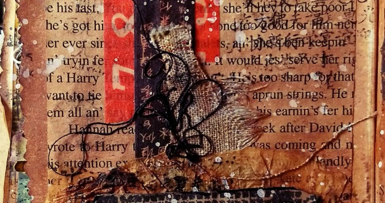 A House Full of Texture : Seth Apter Inspired Mini Album