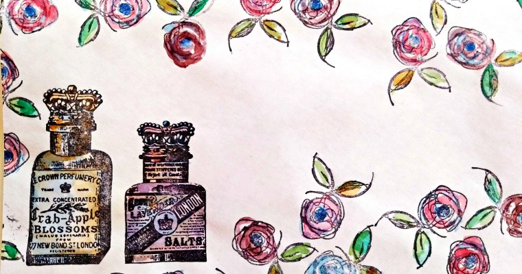Salsa Across the Page : Watercolor