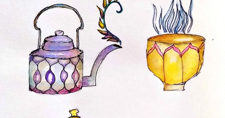 Doodling Tea Pots and Some Books: A Couch Adventure