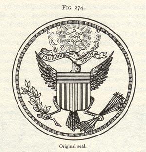 Das erste USA Siegel