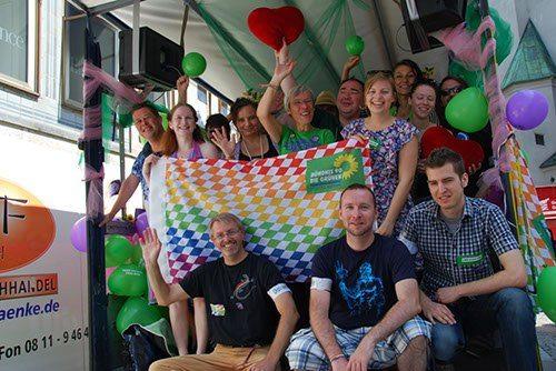 Münchner Grüne beim Christopher Street Day