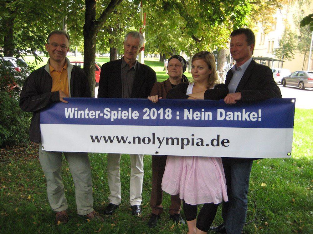 Unsere erste Kampagne: Gegen die Winterspiele 2018