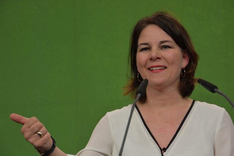 Unsere Parteichefin Annalena Baerbock heizte ein!