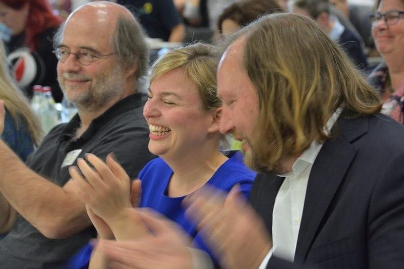 Eike Hallitzky, Katharina Schulze, Toni Hofreiter.