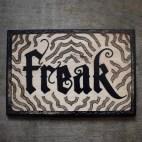 """Freak - 4x6"""" Wood Engraving"""
