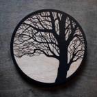 Tree - Wood Coaster