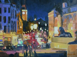 Whitehall painting city oil