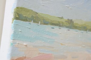 Late August morning in Porthilly, detail