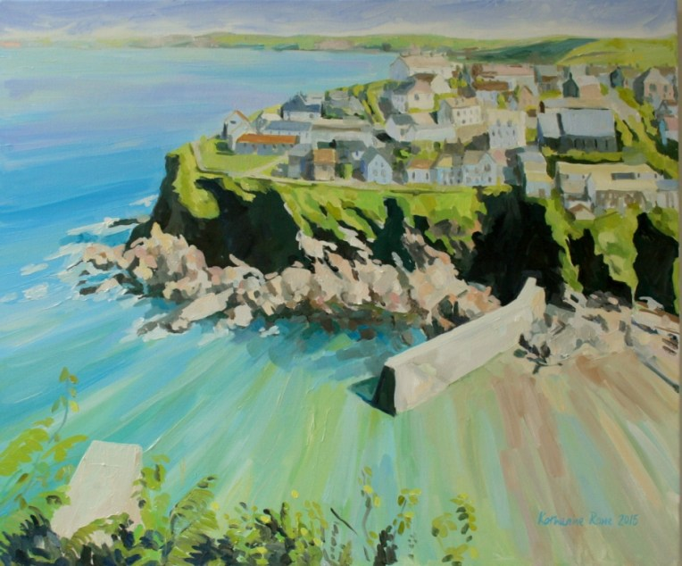 Port Isaac from Roscarrok Hill
