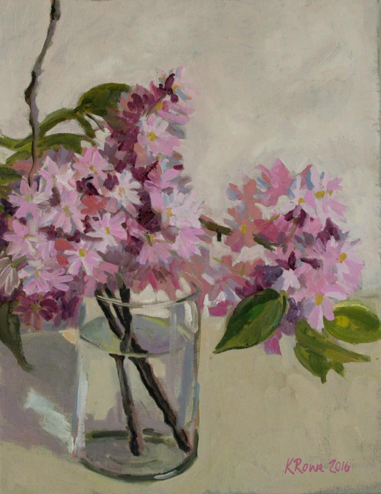 Wimbledon Cherry blossom, 35x25cm unframed £225