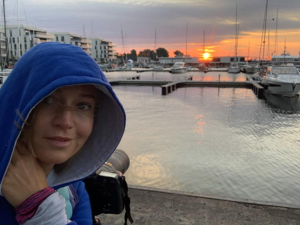 Czekając na wschód słońca