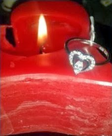 Juwelkerze Valentins-Edition