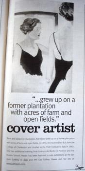 Charleston Artist Kat Hastie featured in Skirt Magazine