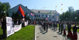 Romny's Victory Day Memorial event