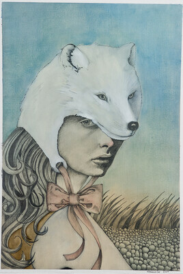 Arctic Fox Hood