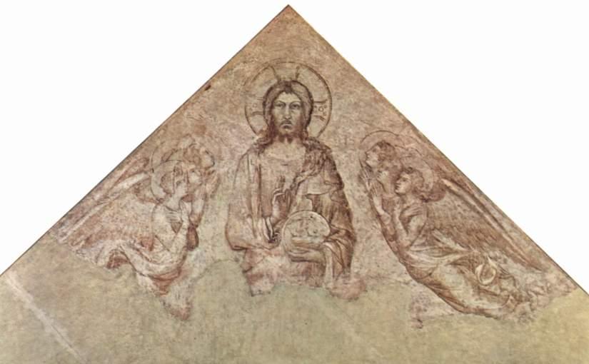 Sinopia_di_Notres_Dames_des_Domes,_Avignone_-_Cristo_Pantocratore