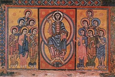 Christ and the Twelve Apostles, Museu Nacional d'Art de Catalunya, Barcelona, 12th century