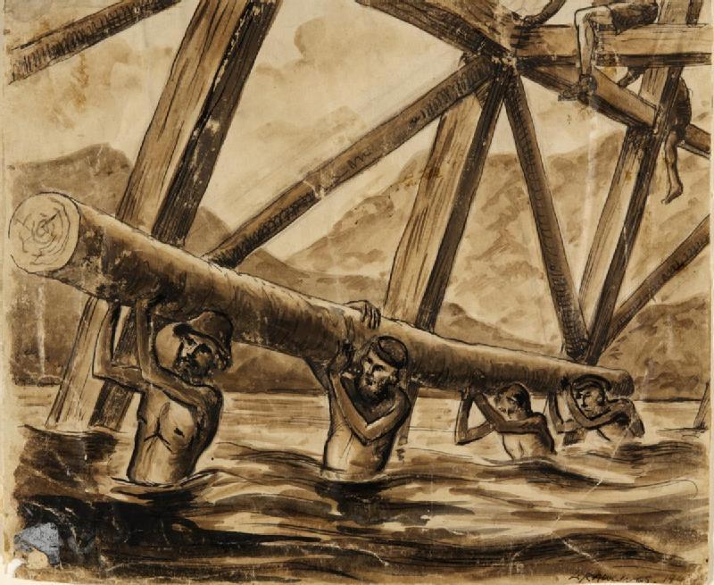 Bridge_over_the_River_Kwai_Art.IWMARTLD6035