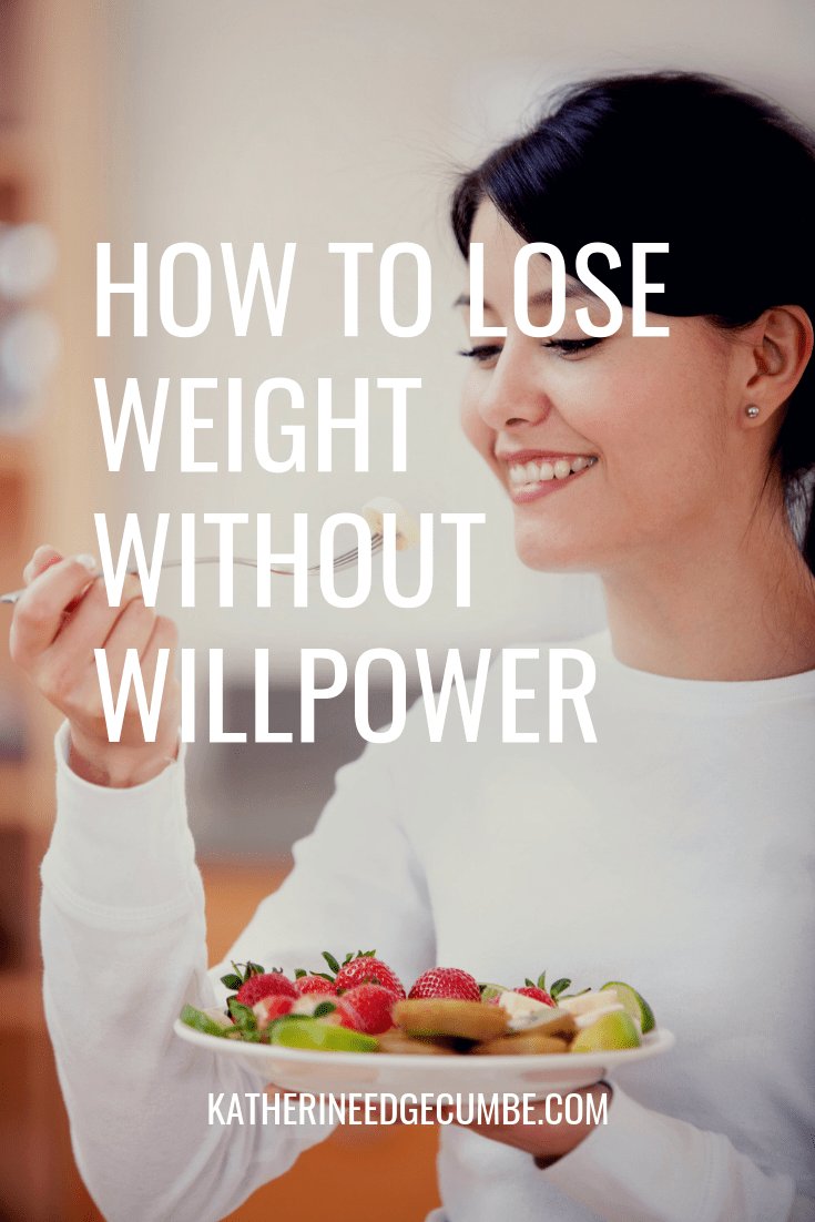 How to lose weight without willpower! Burn fat, lose weight, and eat healthy without willpower. #healthyeating #weightloss #nutritionhelp