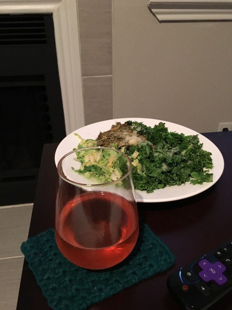 Wine, Protein, Veggies