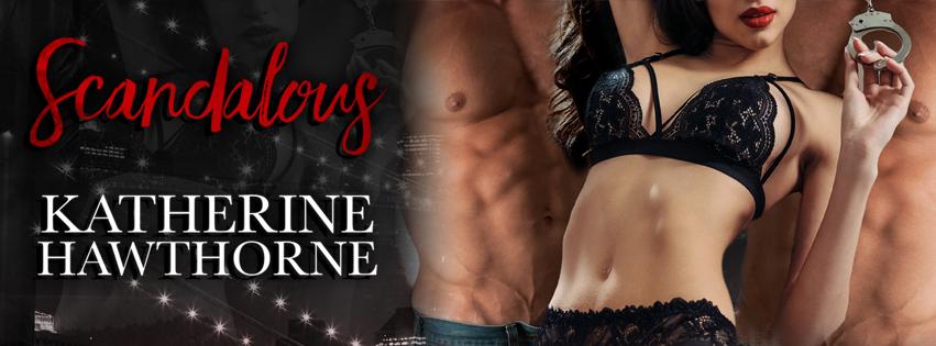 Scandalous Katherine Hawhorne Social Banner