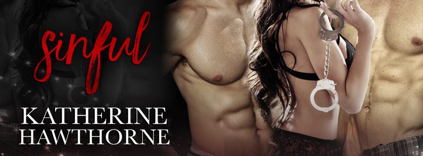 Sinful Katherine Hawhorne Social Banner