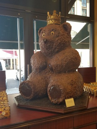 Chocolate bear, Berlin's mascot