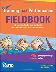 Beyond Training Ain't Performance Fieldbook cover
