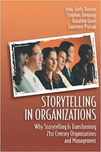 Storytelling in Organizations cover