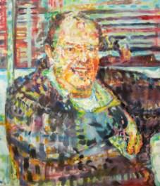 "John 2013 28"" x 28"" oil on canvas FOR SALE"