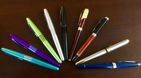 Fountain Pens for Writers