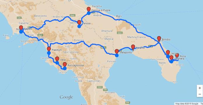 Greek in Italy trip 2015