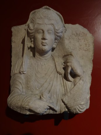Palmyrene inscription, Vatican museum