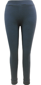 Eberjey Cozy Time Legging in Gunmetal