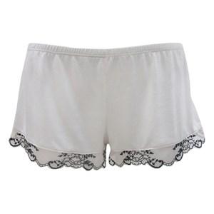 Paloma Shorts, Alabaster/Black