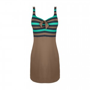 Punch SwimDress, Curacao/Golden Shadow