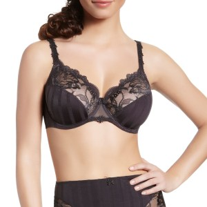 Amour Full Cup Bra, Anthracite