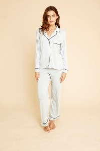 Gisele Long Sleeve PJ Set, Haze
