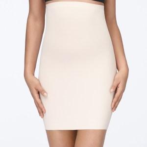 Yulia Skirt Slip, Nude