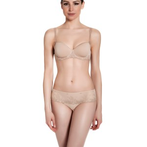 Delice 3D Demi Molded Cup Bra, Nude
