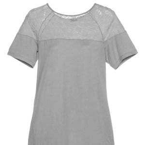 Sleepwear Nightshirt, Dove Grey
